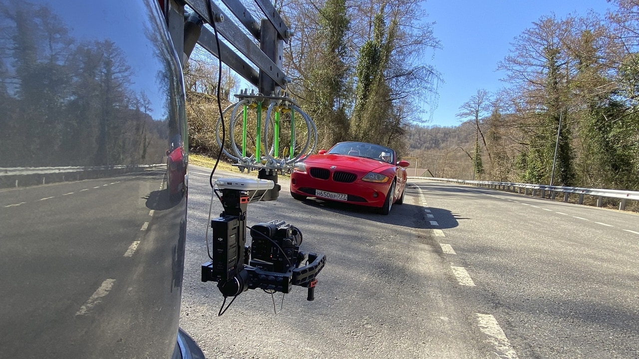 Видеосъемка машин
