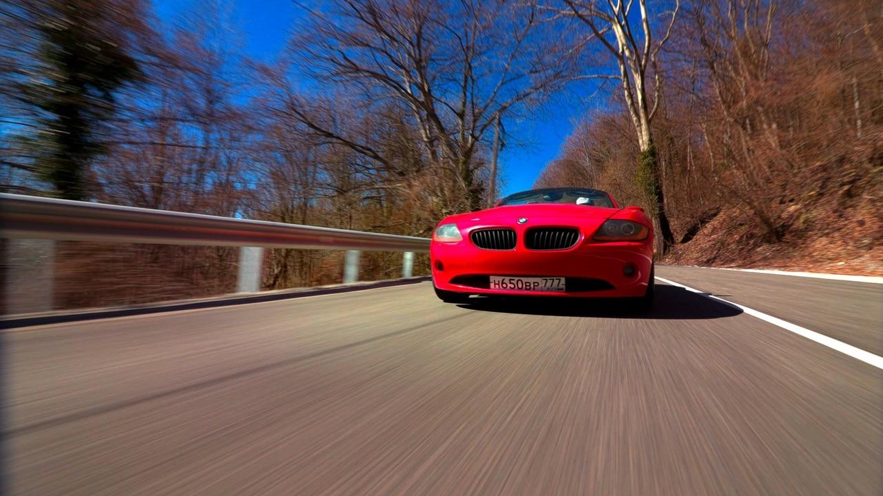 Видеосъемка рекламы BMW