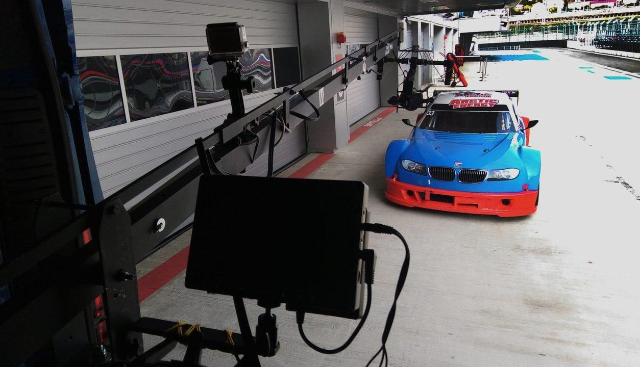 Съемка авто в движении в 2015 году