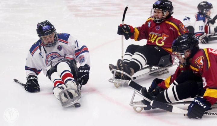 Онлайн трансляция Сочи детской следж-хоккейной лиги