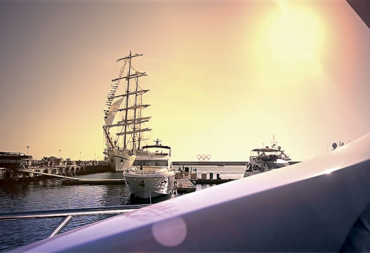 Видеосъемка выставки Сочи Яхт Шоу