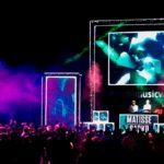 Видеосъемка в Сочи фестиваля электронной музыки